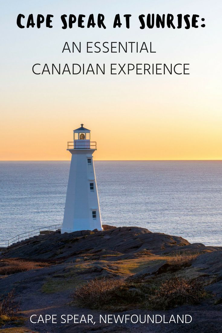 Cape Spear at Sunrise: An Essential Canadian Experience