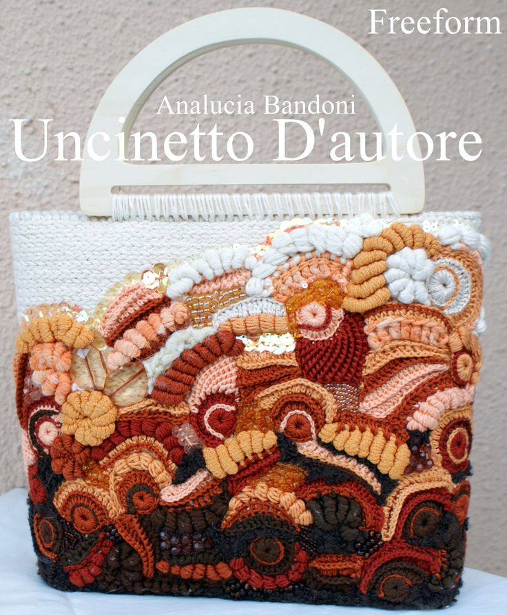 #crochet  #bag #freeform #borsa #uncinetto #bolsa