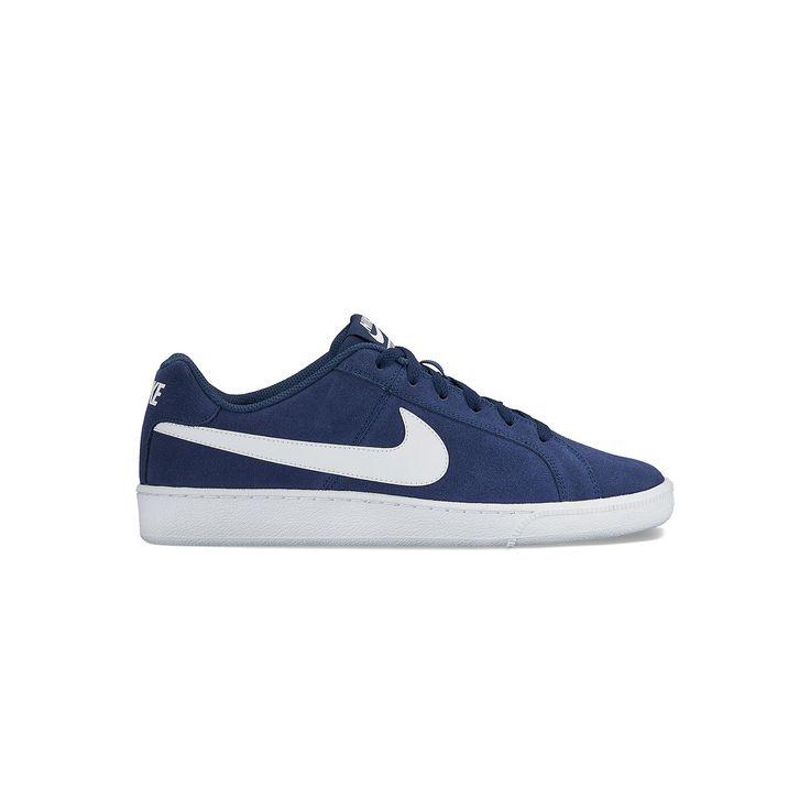 Nike Court Royale Men's Suede Shoes, Size: 10.5, Blue (Navy)