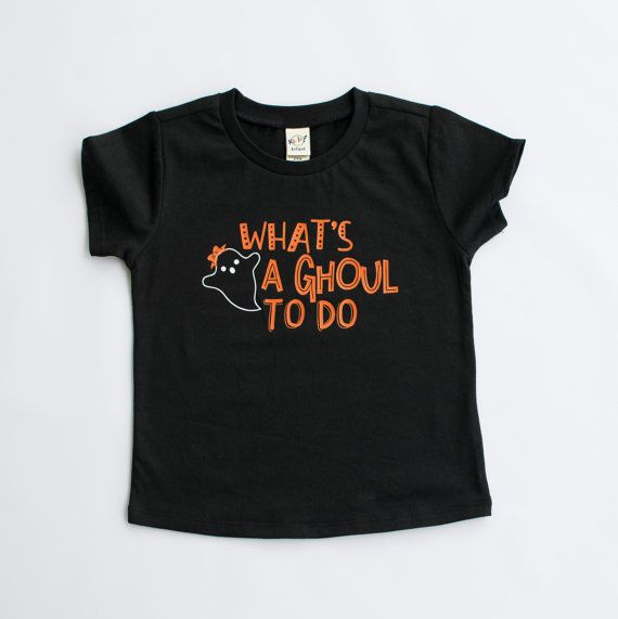 Whats A Ghoul To Do Girl Halloween Shirt Toddler By Our5loves