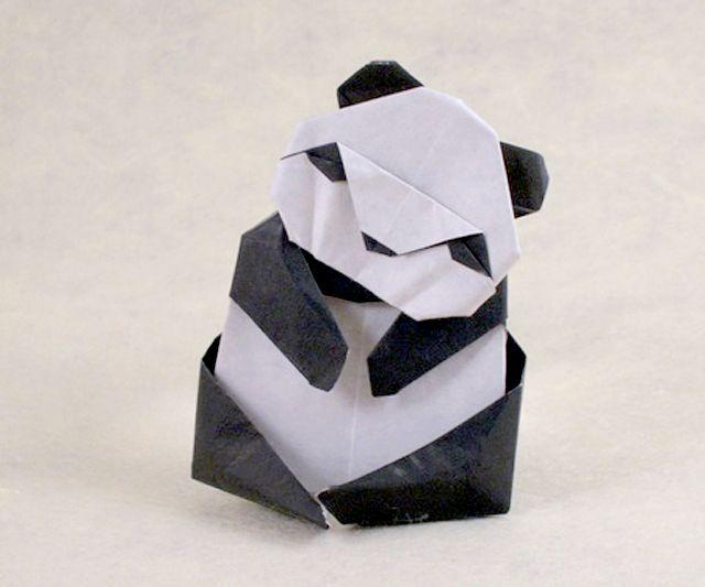 Origami Panda by Akira Yoshizawa