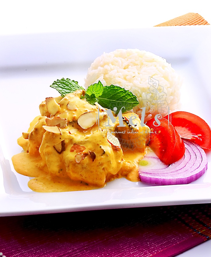 Mel's Korma masala...a delicious warming, cashew nut curry laced with green cardamom and other delicate spices...  www.mels.co.nz