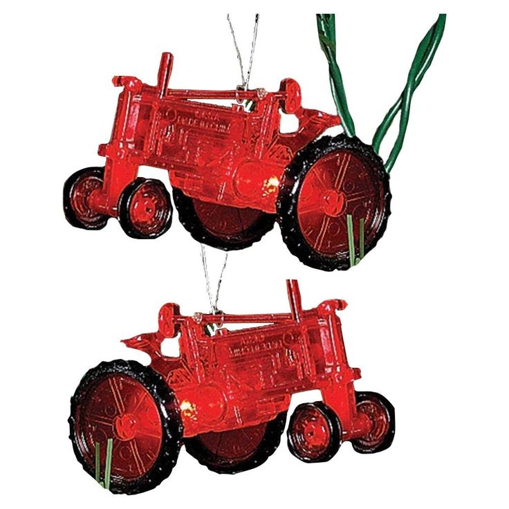Red Tractor Light Set