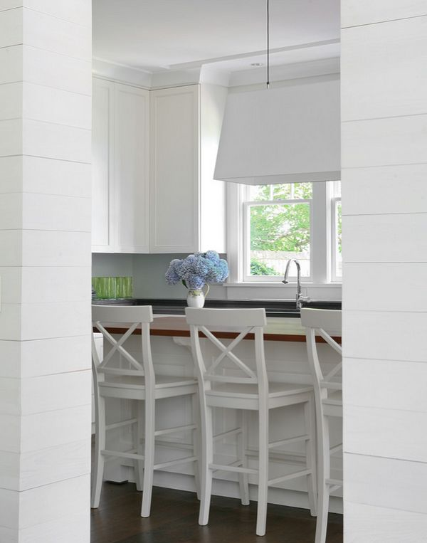 calling it home: a hamptons cottage.  I would add a little bit more color and some personal items