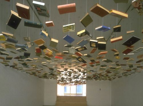 This sure would set atmosphere in a library entryway. #tlchat