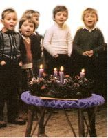Liturgical Year : Prayers : Blessing and Prayers for Advent Wreath - Catholic Culture