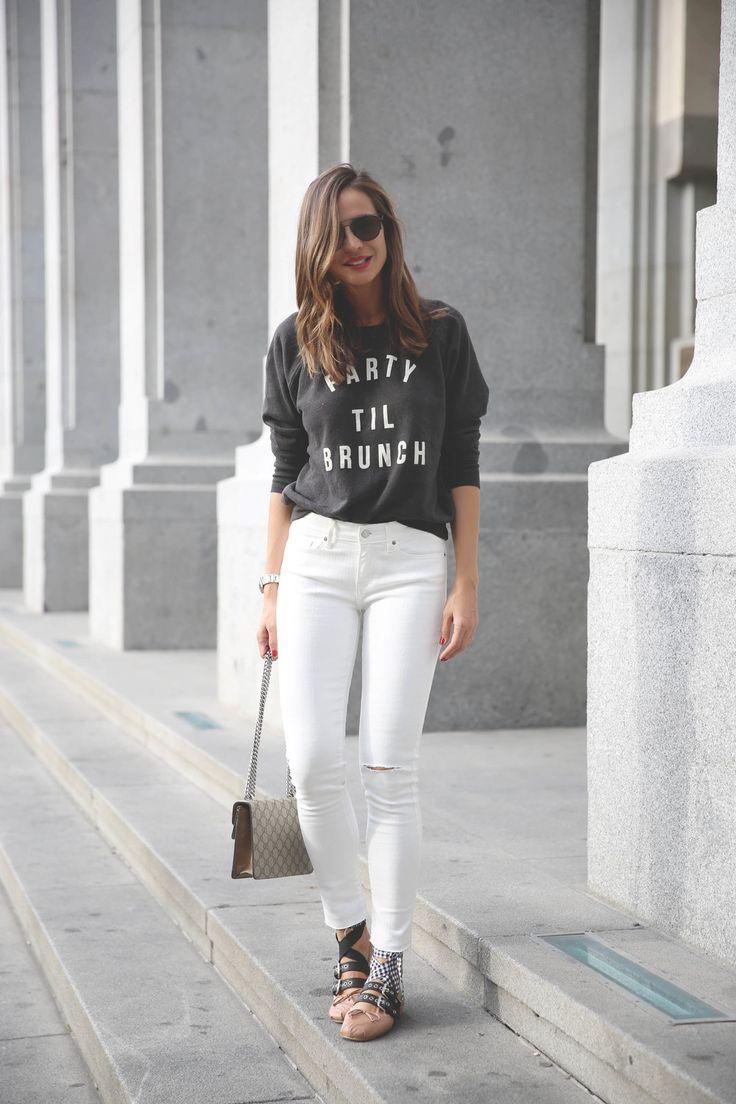 8 Ways To Style White Pants