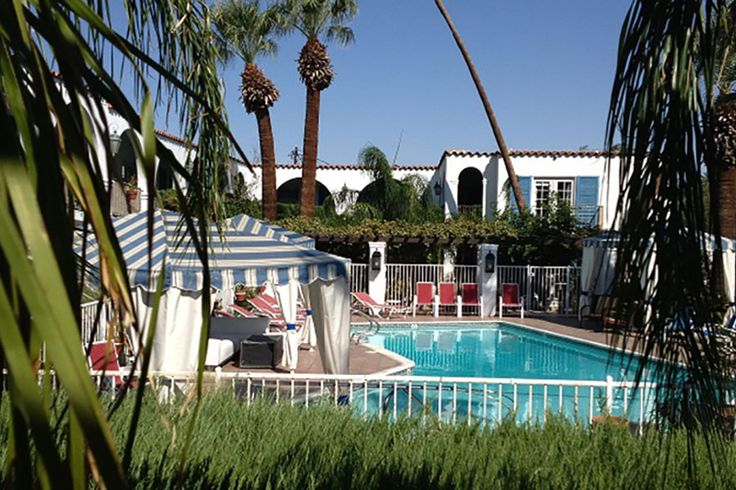 15 best images about palm springs boutique hotels on for Palm springs strip hotels
