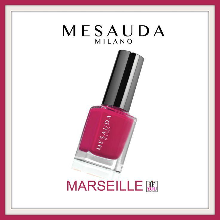 Ecco MARSEILLE, il rosa di Mesauda Cosmetics, dai pigmenti luminosi e decisi. Un pennello largo che rende ottimale la distensione garantendo una durata extra rispetto agli smalti normali. L'applicazione estremamente facile, la perfetta coprenza, l'estrema brillantezza, il brevissimo tempo di asciugatura, l'alta stabilità del colore nel tempo, l'ultra tenuta, il finish extra lucido ad effetto vetro/ceramica sono caratteristiche di questo smalto tecnologico potenziato da nanoparticelle di…