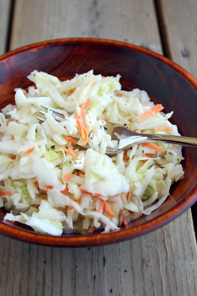 low-fat-coleslaw-3--Great for my summer barbeques-healthier cuz I want my friends around a long time.