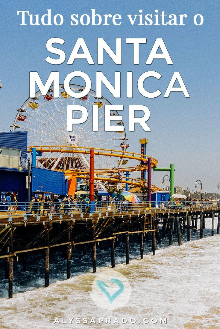 Sabia que o píer do Rocket Power existe mesmo? Ele é inspirado no Santa Monica Pier, um passeio incrível para aqueles que estão visitando Los Angeles! Descubra como chegar  e o que fazer por lá nesse post:  http://alyssaprado.com/santa-monica-pier-los-angeles/