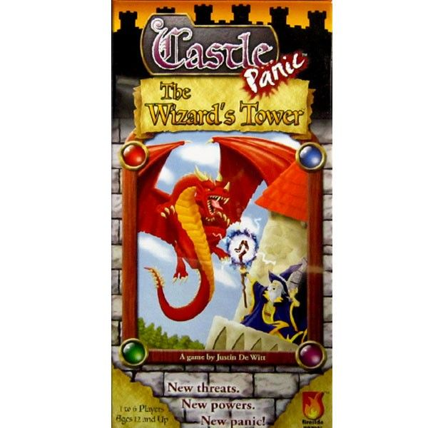 Castle Panic : Wizard's Tower is the expansion to Castle Panic. $21.95