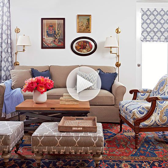Design And Decor Tricks For Small Living Rooms
