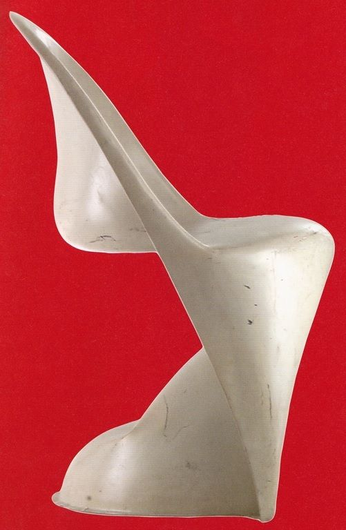 Spectacular the scale model pf Panton chair