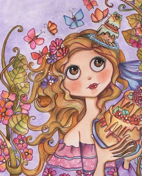 Cake Art Print by Lidia Gennari | Society6