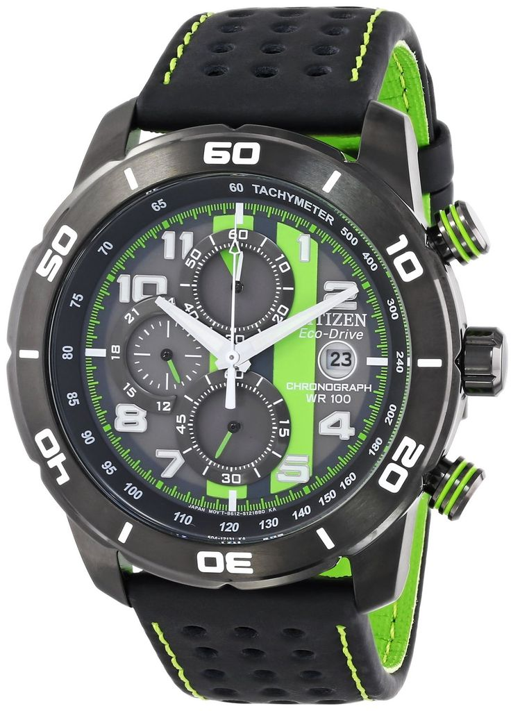 """Citizen Men's CA0467-20H """"Primo"""" Stainless Steel Eco-Drive Watch"""