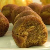 Pumpkin Poppers- gluten & grain free - GAPS safe. Coconut flour, spices, eggs, pumpkin, coconut oil, honey