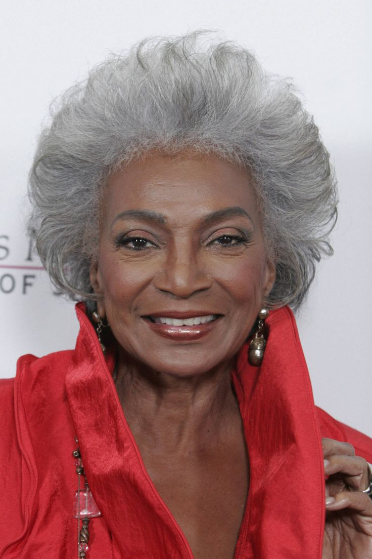 Nichelle Nichols of the original Star Trek series - still unbelievably beautiful after all these years