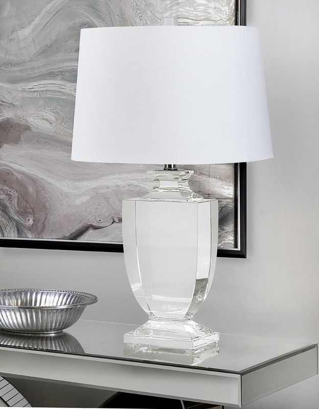 Mcmillin Crystal 26 Table Lamp Lamp Table Lamp Crystal Table Lamps