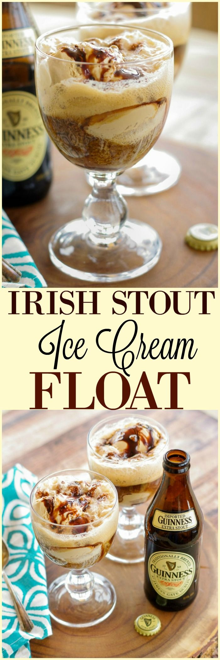 Stout Floats With Cocoa Syrup Recipe — Dishmaps