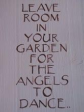 Even angels need a dance floor.