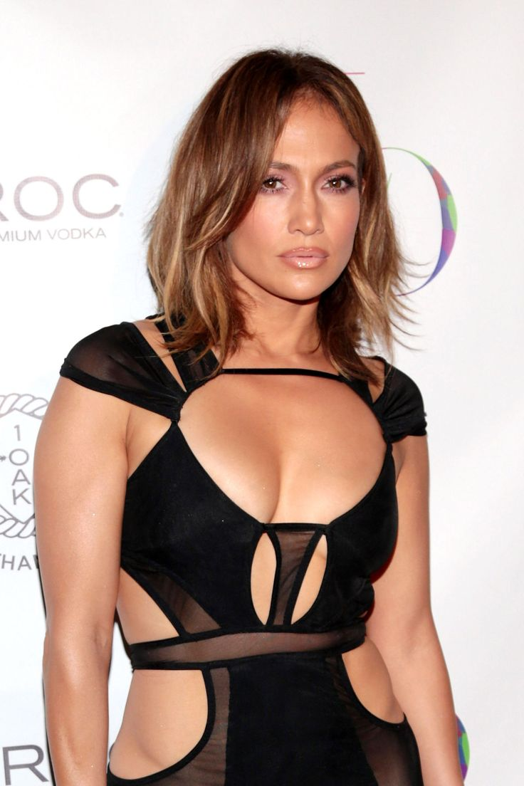 Of Course J.Lo Wore a Naked Dress on Her Birthday