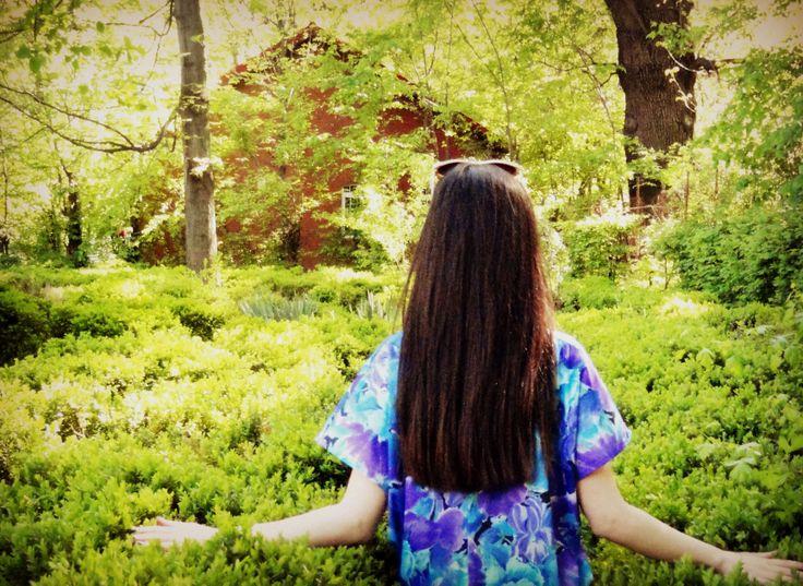 sweet escape. green. botanical garden. Bucharest.