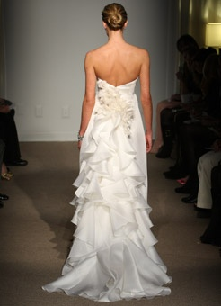 Anna Maier gorgeous wedding gown
