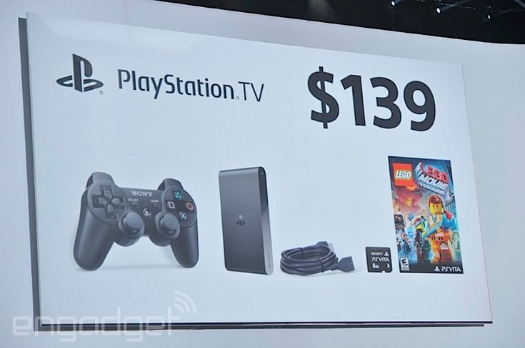 Vita TV becomes PlayStation TV in the US, Europe and Canada for $99 this fall