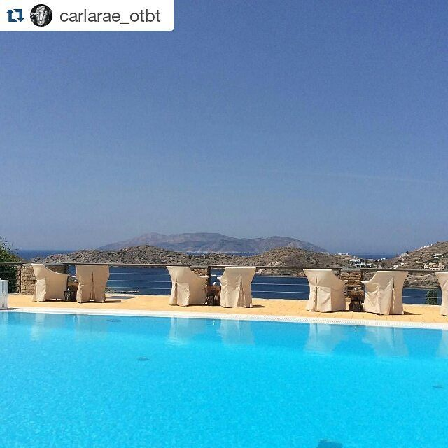 #Repost @carlarae_otbt ・・・ Feeling very blessed. What a view ❤️ #goodmorning #liostasi #spa #ios #cyclades #greece #otbt #offthebeatentack #happy #amazingview #wishyouwerehere #ilovegreece #soulstepper #islandhopping #summer2016 #goodvibes #greeceistheword https://www.instagram.com/liostasiioshotel/