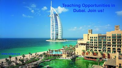 Tulip Canada: Now is the time! Join us in UAE! A Teaching Advent...