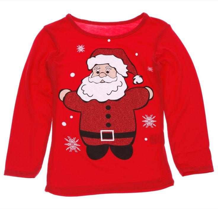 Παιδική λεπτή μπλούζα «Santa»  €9,90
