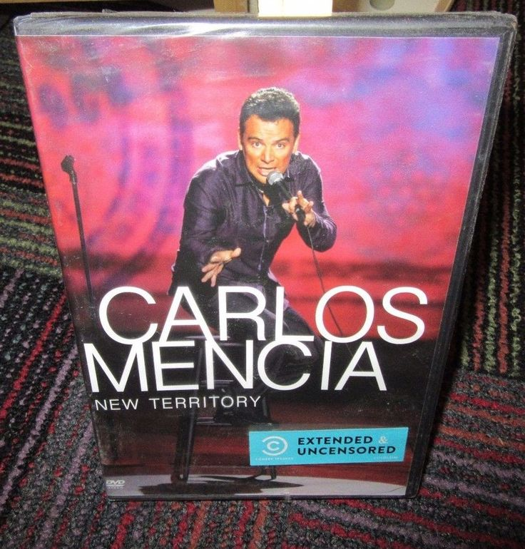 NEW CARLOS MENCIA: NEW TERRITORY EXTENDED & UNCENSORED DVD, NIP MINT