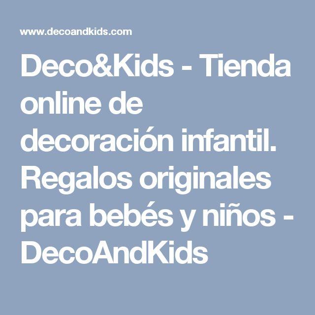 Deco&Kids - Tienda online de decoración infantil. Regalos originales para bebés y niños - DecoAndKids
