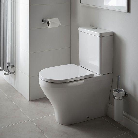 Transition close coupled WC inc soft-close seat | bathstore
