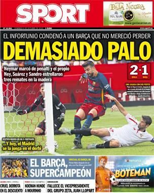 04/10/2015 por galansote - Portada prensa deportiva - Fotos del F.C. Barcelona, La galeria de fotos más extensa de los aficionados al futbol club barcelona. Comparte tus fotos del Barça