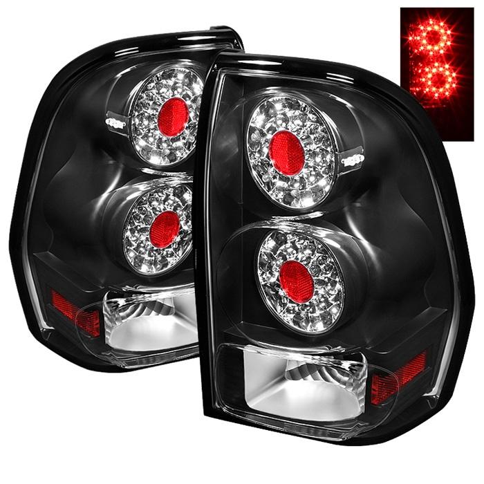 Chevy TrailBlazer LED Tail Lights - Pair (Black)