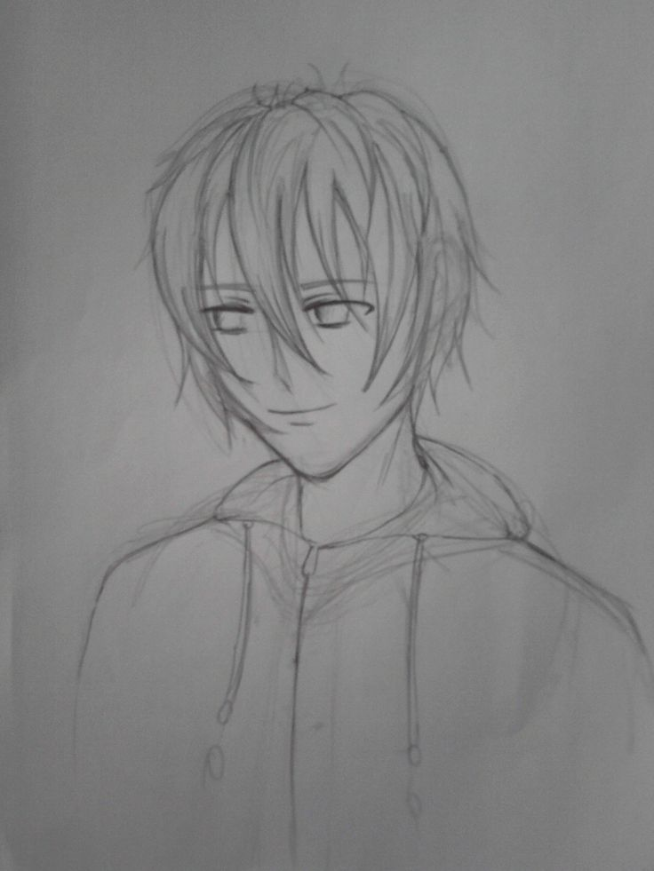 #sketch anime boy