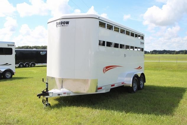 Check out this amazing 2018 Shadow Stablemate Stock Sides 3H Slant BP SKU 60048 Horse Trailers for sale in Lenoir city, Tennessee USA!