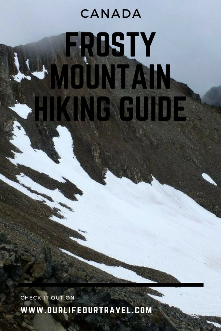 Frosty Mountain Hiking Guide - E.C. Manning Park - The best hiking destinations near Vancouver, BC, Canada  | How to get there? Trail description and more | The best hiking destinations near Vancouver, BC, Canada #vancouver #frosty #larch #hiking #canada