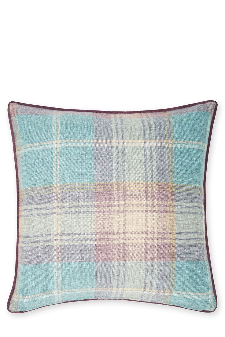 Buy Stirling Woven Check Cushion from the Next UK online shop