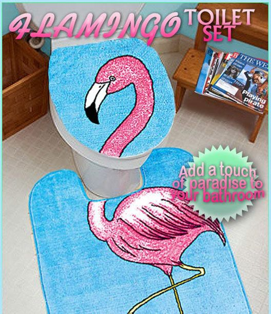 fish and flamingo bathroom decoration | You've heard of the Snuggie, but have you heard of the Slanket?