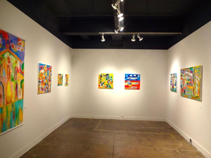 Taisuke Kinugasa exhibition room at hpgrp GALLERY NEW YORK