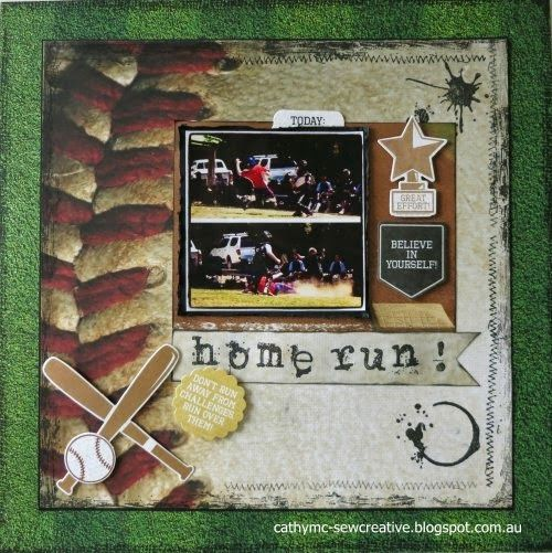 Home Run! ~Kaisercraft ~Game On Collection