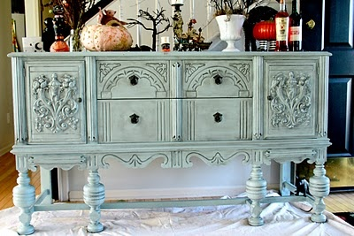 Great redo of an old buffet.