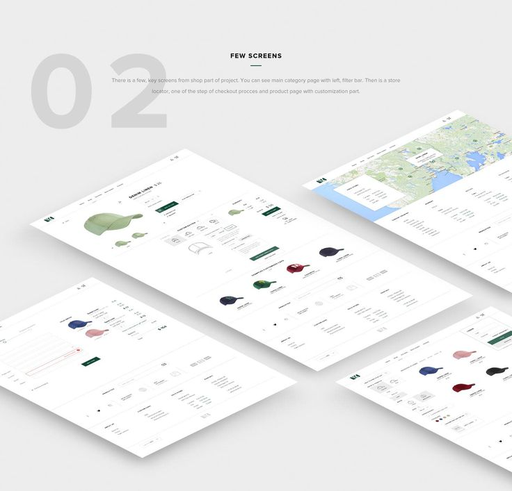 VARSITY - UI/UX - Web/Shop on Behance