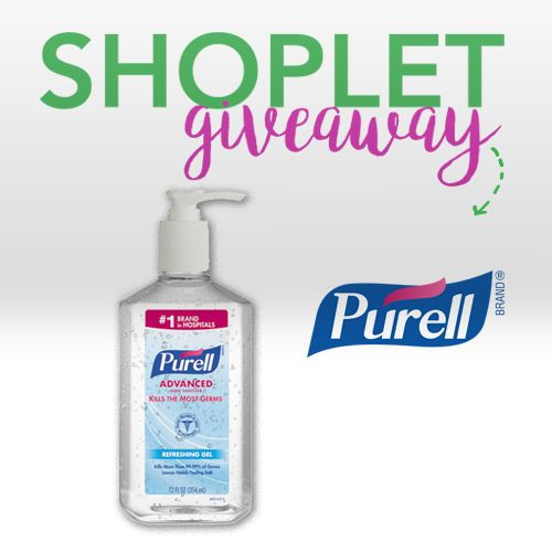 Win A 6 Pack Of Purell Hand Sanitizer Closed Hand Sanitizer