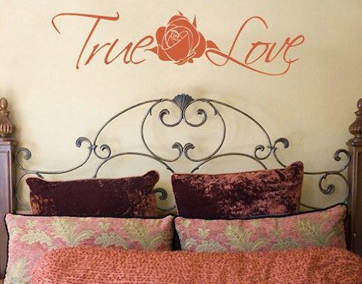 #Wandtattoo #Sprüche - #Wandworte true #love #Rose #Rosen #Rosengarten #Blumen #Dornen #Liebe #Wandgestaltung #Dekoidee