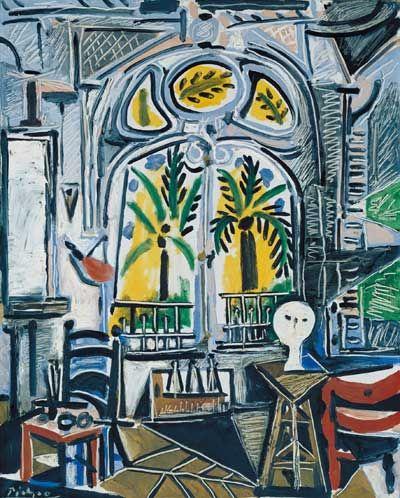 The Studio, Pablo Picasso (1955).