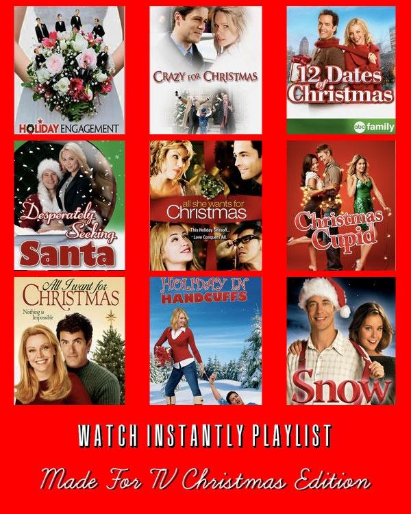 A potpourri of Christmas hallmark movies